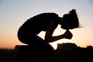 niet slapen maar bidden